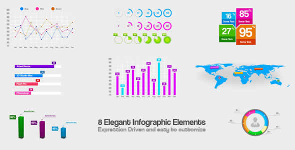 Elegant Infographic Elements