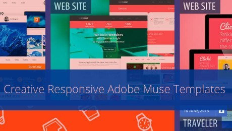 24+ Creative Responsive Adobe Muse Templates