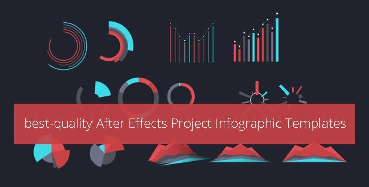 Adobe after effects infographic template