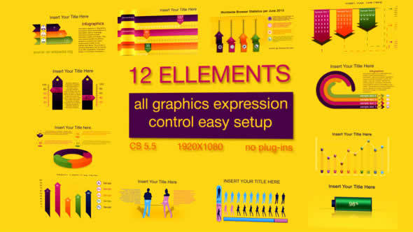 Infographic after effects