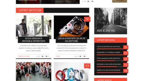 Bucket – Magazine Style WordPress Theme