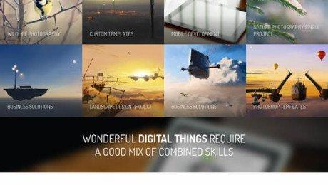 Corsa – Responsive Creative OnePage Theme