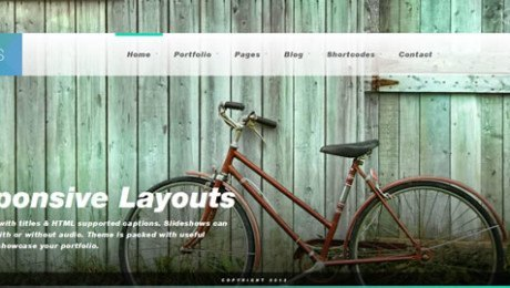 Ideas – Fullscreen Responsive WordPress Theme