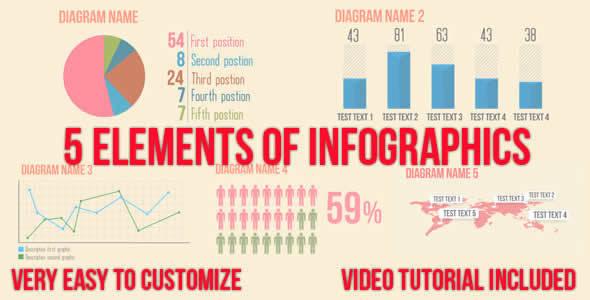 5 Infographics Elements