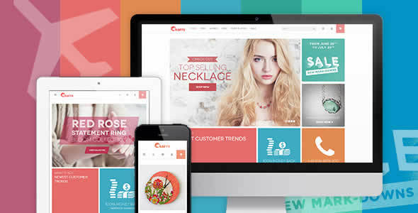 JM Crafts Responsive theme for Crafts store