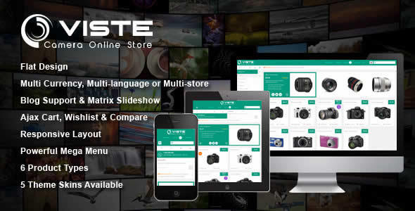 SM Viste Responsive Multi-Purpose Magento Theme