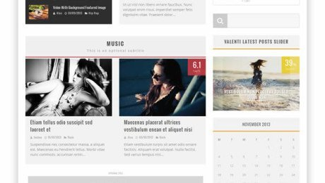 Valenti – Blog Magazine Premium WordPress Theme