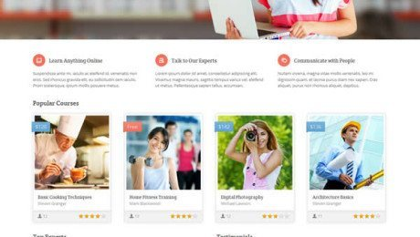 Academy – Learning Management WordPress Theme