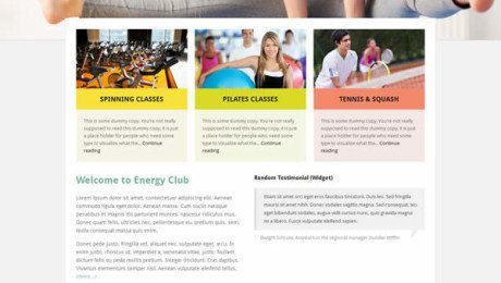 Energy – A Premium Business WordPress Theme