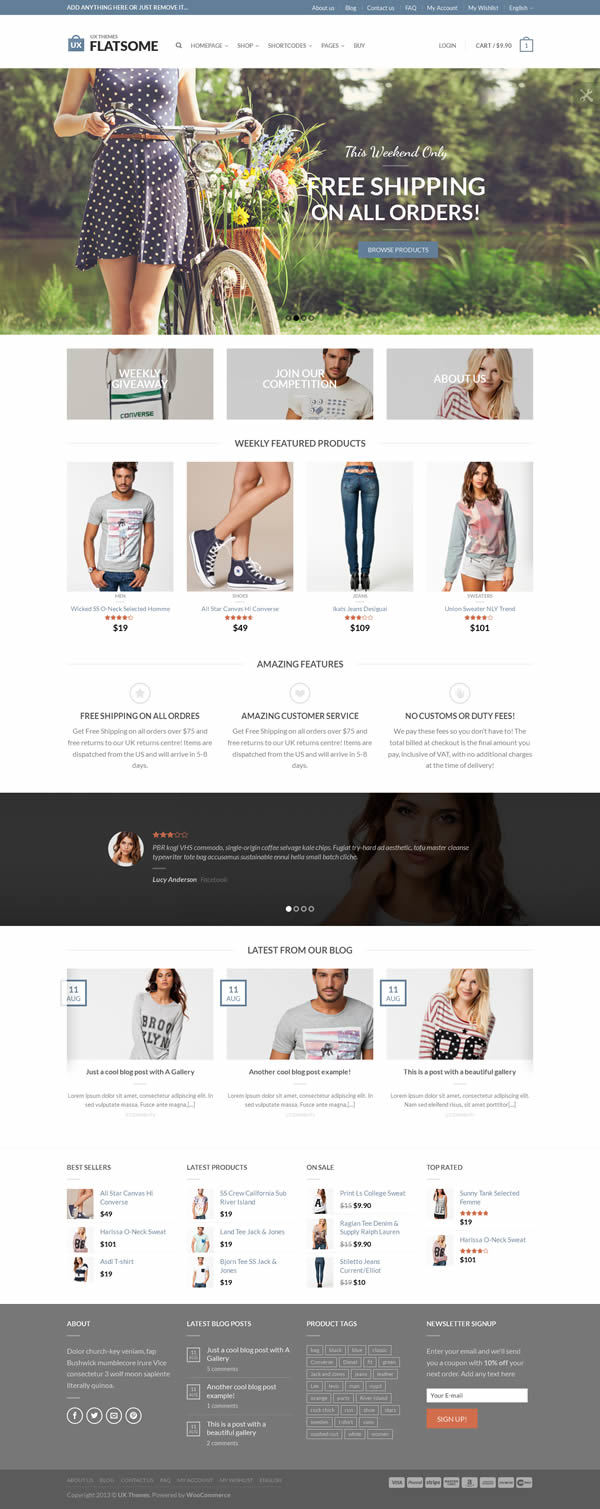 Flatsome eCommerce WordPress theme