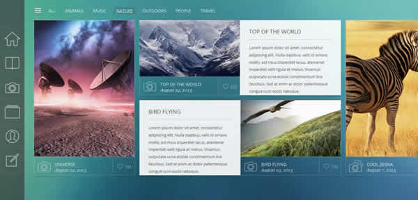 Lumen Responsive Photography WordPress Theme