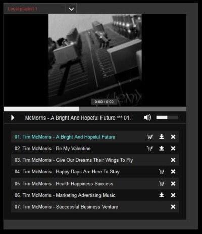 Responsive HTML5 Music Player For WordPress Screenshot2