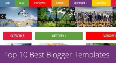 Responsive Premium Blogger Templates