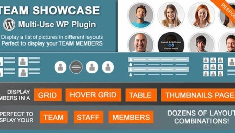 Team Showcase – WordPress Plugin
