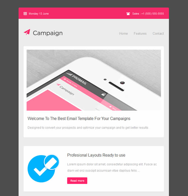 Campaigner Responsive Email Template