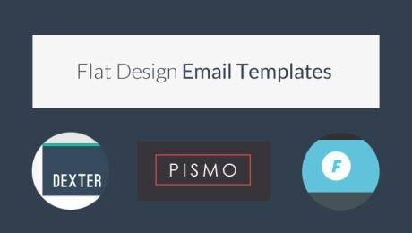 13 Powerful Flat Design HTML Email Templates