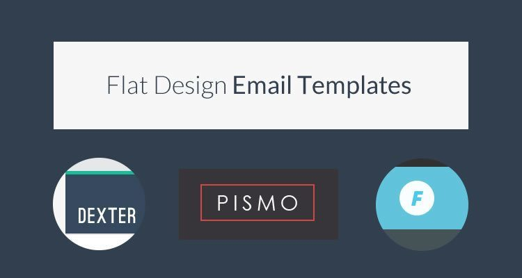 13 powerful flat design html email templates webdesignboom