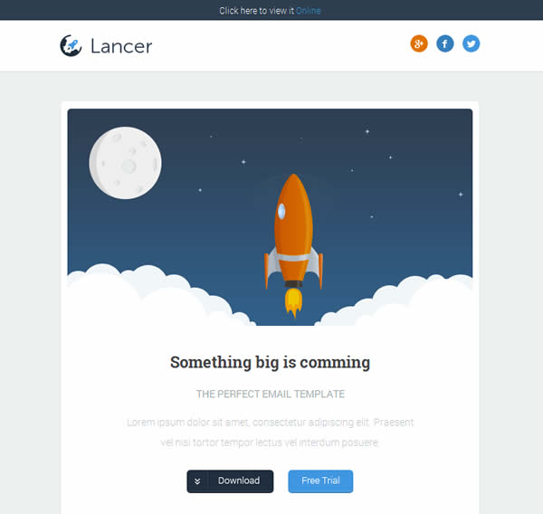 Lancer Responsive Email Template