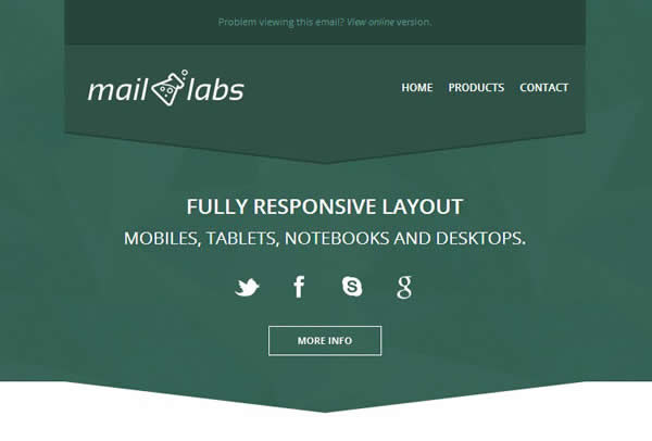 MailLabs Responsive Email Template