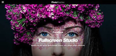 Photoreactive A Premium Photography theme