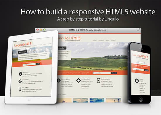 How to build a HTML5 website from scratch