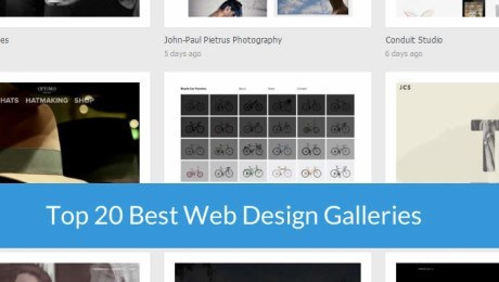 Top 20 Best Web Design Showcase Sites for Inspiration