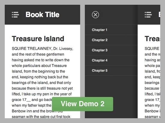 Off-Canvas Navigation For A Responsive Website