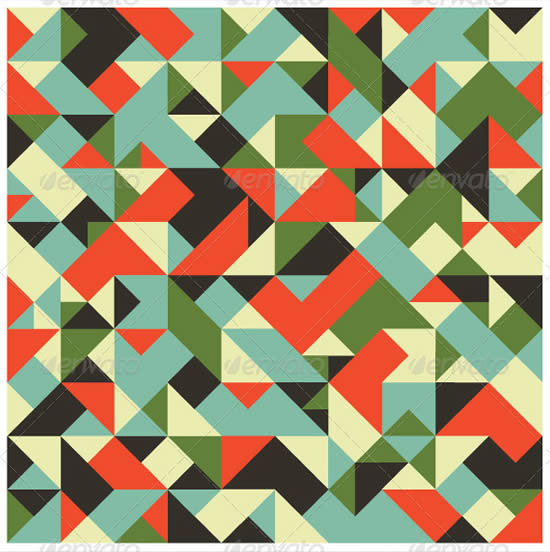 Seamless Tileable Geometric Pattern