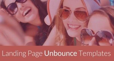 best landing page unbounce templates