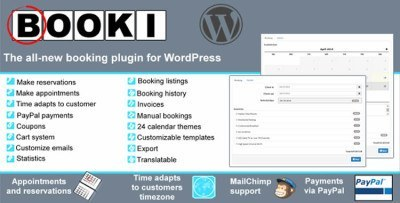 booking plugin for WordPress