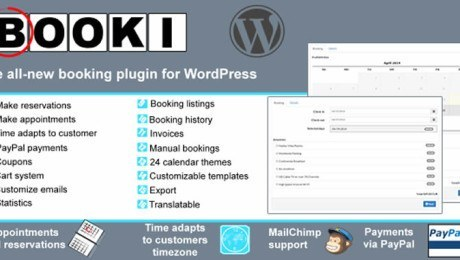 Booki – A Booking Plugin for WordPress