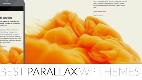 23+ Best Parallax WordPress Themes 2014