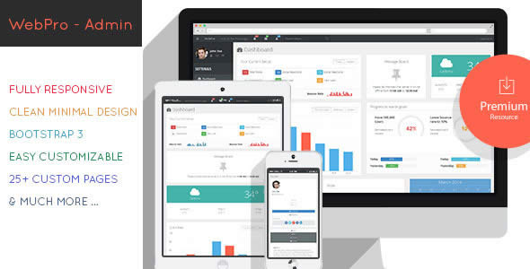 web admin dashboard templates