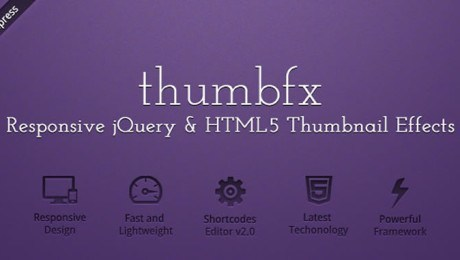 WP ThumbFx – Responsive jQuery Thumbnail Effects Plugin