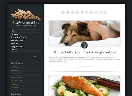 Free Responsive Bootstrap blogging WordPress Theme