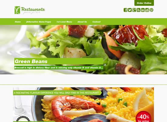 Free Responsive Bootstrap WordPress Hotel & Restaurant Theme