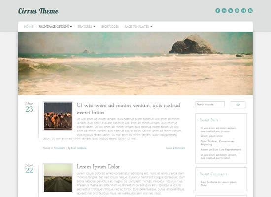 Free Responsive Bootstrap WordPress Themes