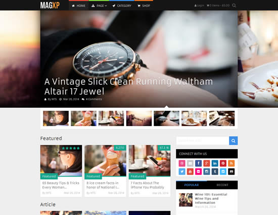 seo friendly wordpress magazine themes