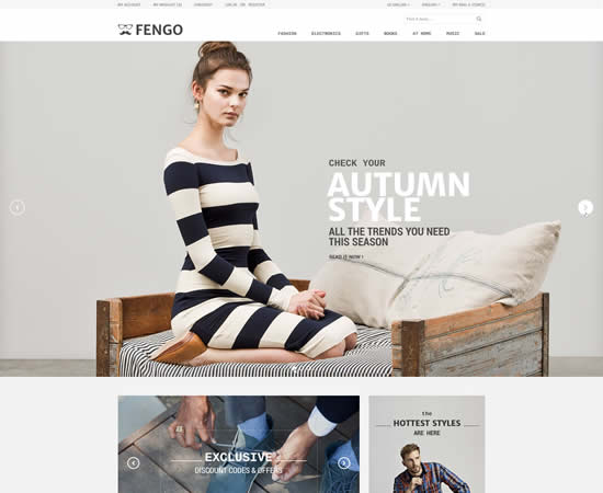 premium free psd website template
