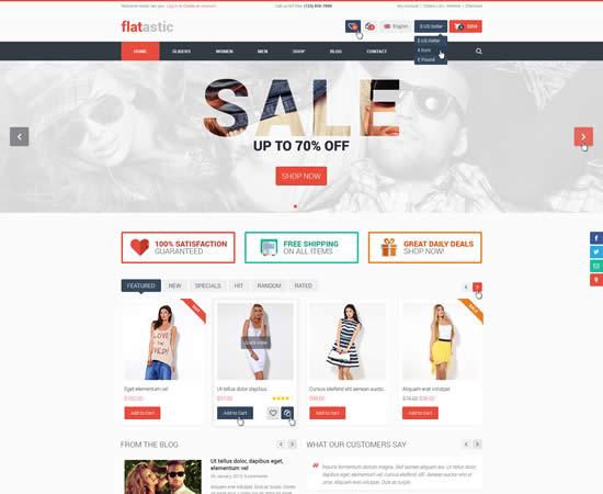 premium free psd website template