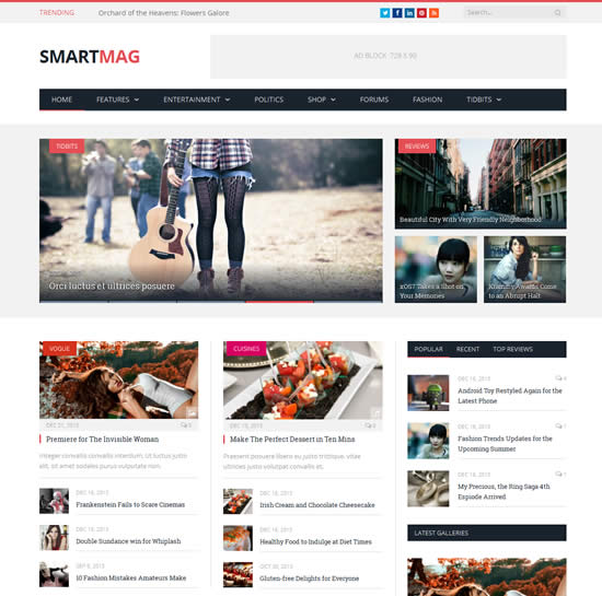 seo friendly themes for wordpress magazine wordpress themes