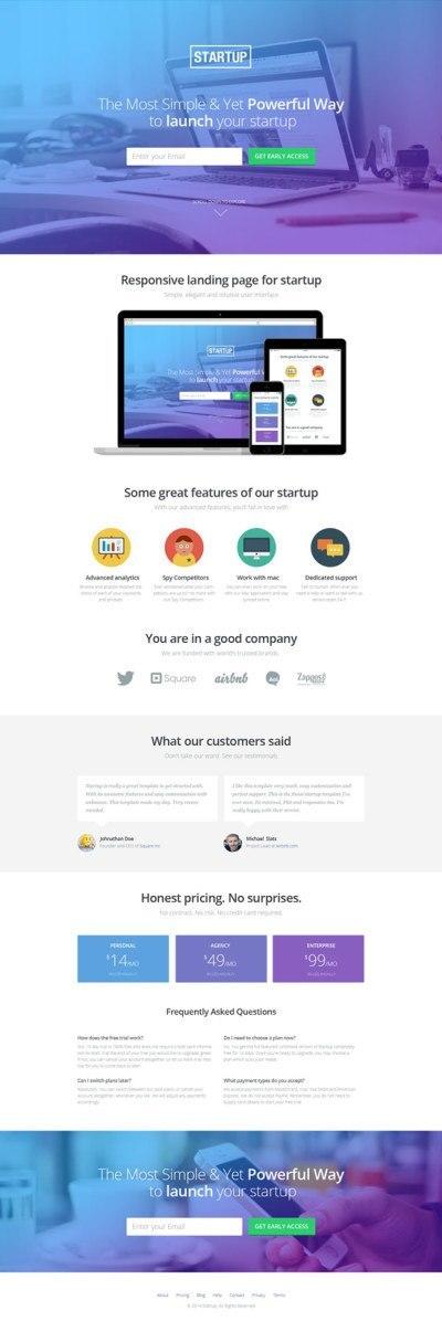 startup-landing-template