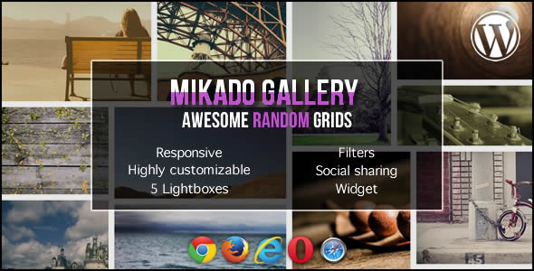 Mikado Grid Gallery for WordPress