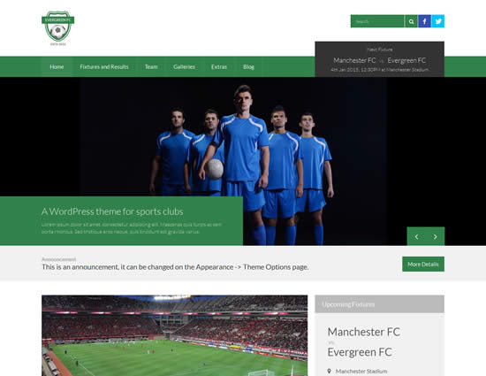 Sports WordPress Themes
