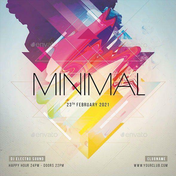 Minimal Flyer Creative Sound