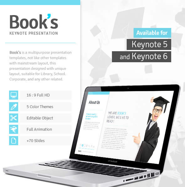 Books Keynote Template