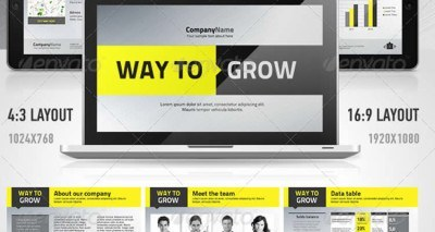 21+ Best Designed Templates / Keynote Presentation