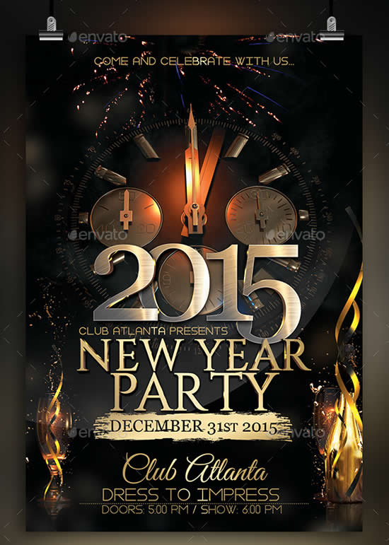 23 best party poster templates webdesignboom
