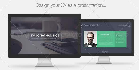 Personal CV Keynote