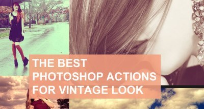 Amazing Photoshop Vintage Actions